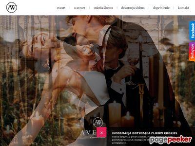 Suknie ślubne i dekoracje ślubne - Aveart