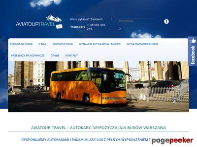 Autokary Warszawa