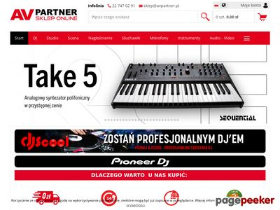 Sklep ze sprzętem audio | avpartner.pl