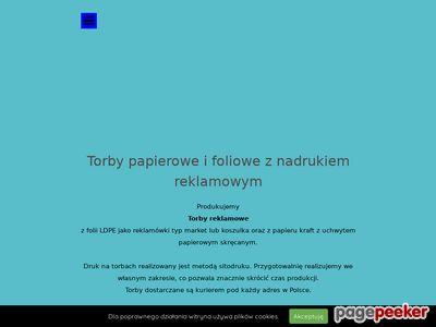 Torby reklamowe, nadruki, sitodruk