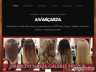 manicure i pedicure - Awangarda