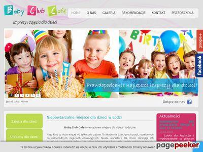 Baby Club Cafe - chrzciny Łódź