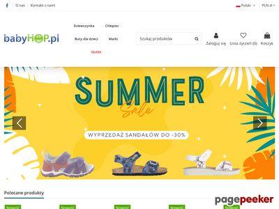 Babyhop.pl - zabawki dla dzieci, gry edukacyjne, meble dla dziec