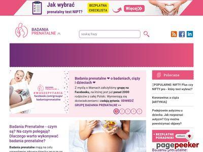 Badania prenatalne podczas ciąży