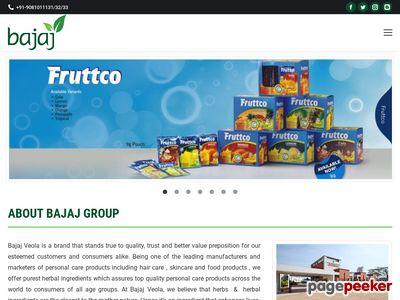 Bajaj Foods Limited Screenshot