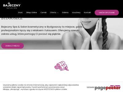 www.bajecznyspa.pl peeling kawitacyjny Bydgoszcz
