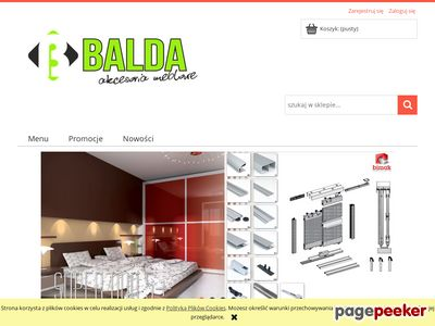 BALDAI - akcesoria meblowe
