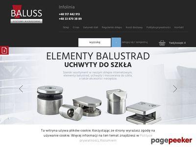 Baluss.pl: Barierki nierdzewne