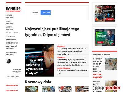 Banki24 Blog Finanse Kredyty Pożyczki