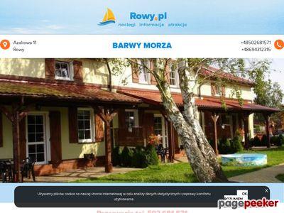 Apartamenty Barwy Morza - noclegi domki w Rowach