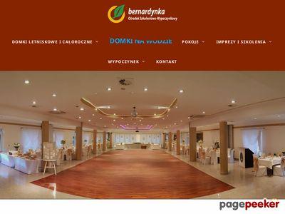 Bernardynka – pokoje hotelowe nad jeziorem