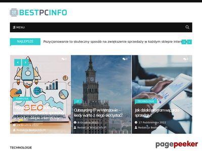 BESTPCINFO.PL - newsy, poradniki, recenzje i testy