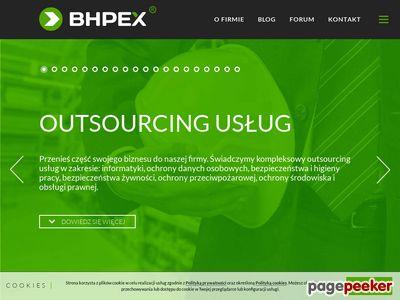 BHPEX znaki BHP