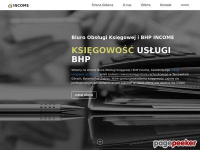 Income - Tarnowskie Góry