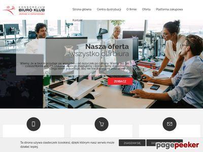 Biuroklub.pl artykuły i materiały biurowe od A do Z