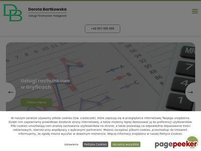 BARTKOWSKA DOROTA usługi finansowe gryfice