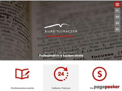 Biuro Tłumaczeń Biruta Gruszecka w Toruniu