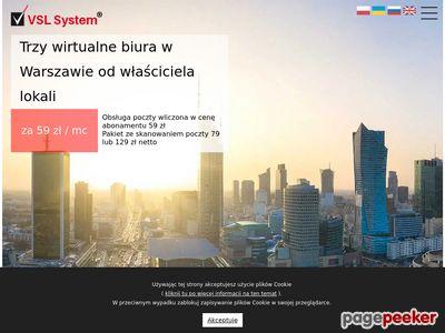 Biuro wirtualne Warszawa