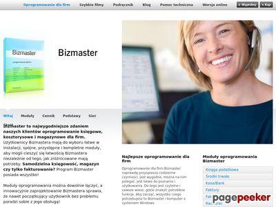 Rozbudowany program księgowy od www.bizmaster.pl
