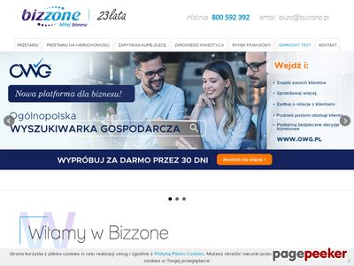 Przetargi PL, UE, Nieruchomości - bizzone.pl