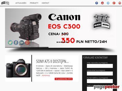Black Media - wynajem kamer warszawa
