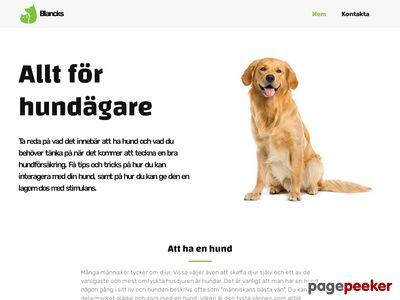 Hund och häst tillbehör - http://www.blancks.se