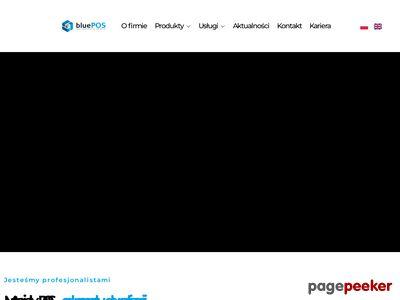 BluePos - scenografia promocyjna.