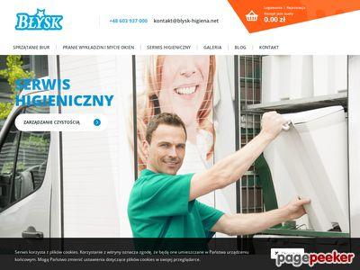Błysk - Sprzątanie osiedli mieszkaniowych i biur