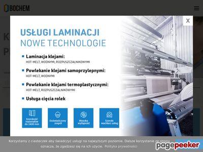 Laminacja materiałów - bochem.pl