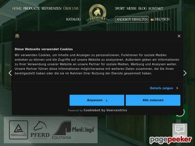 Remtor - oferuje boksy dla koni, projekty i ich realizację