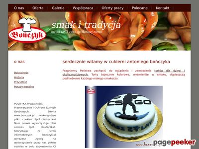 Tort weselny Bończyka