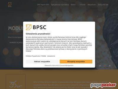 Bpsc.com.pl - programy wspomagające zarządzanie firmą