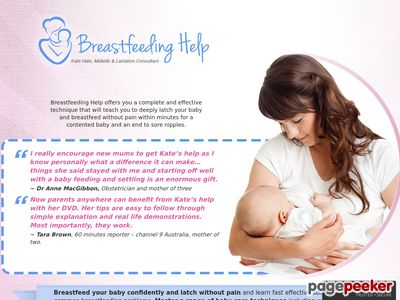 CB Offer – Breastfeeding Help