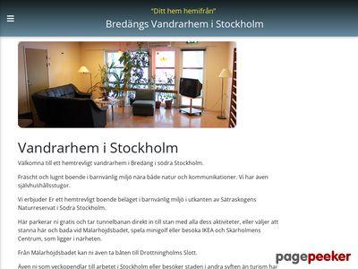 Vandrarhem Stockholm – Bredängs Vandrarhem i Stockholm - http://www.bredangvandrarhem.se