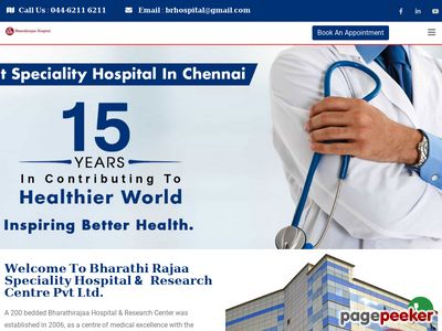 Bharathirajaa Speciality Hospital & Research Centre Pvt Ltd