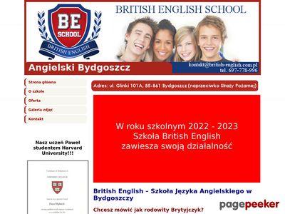 Szkoła angielskiego Bydgoszcz