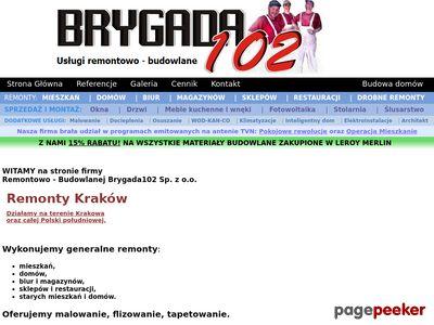 Brygada102. Remonty mieszkań i domów w Krakowie i okolicach