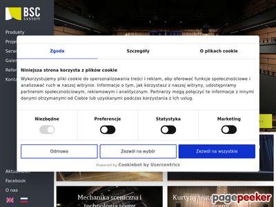 BBSC System podesty sceniczne i wynajem scen