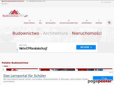 Budownictwo360 - portal budowlany