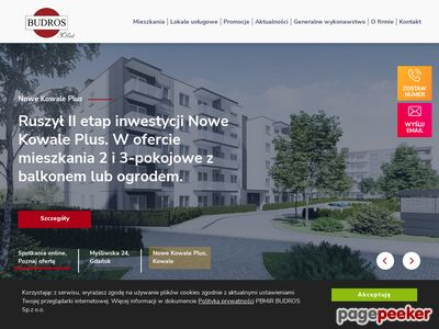 Mieszkania deweloperskie - Budros.pl