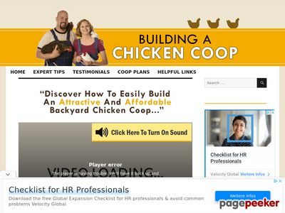 Build A Chicken Coop – Plans Download