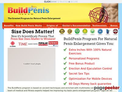 BuildPenis – 100% Natural Penis Enlargement Solution