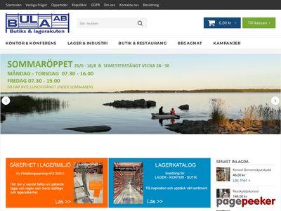 Skärmdump av bula.se