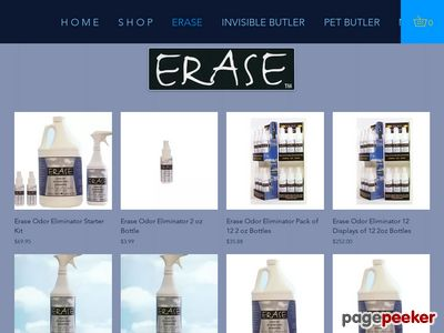 ERASE! Smoke odor eliminator Screenshot