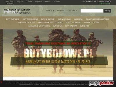 Obuwie wojskowe - FHU ENIGMA