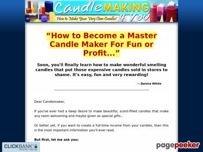 Candle Making 4 You – How to Make Your Very Own Candles!