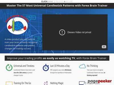 Candlestick Patterns — Forex Brain Trainer