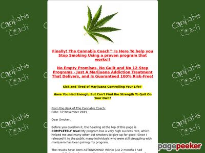 Cannabis Coach™ – Easy Quit Marijuana Addiction Audio Program