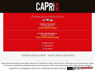 Obiady na telefon, Kraków pizzeria