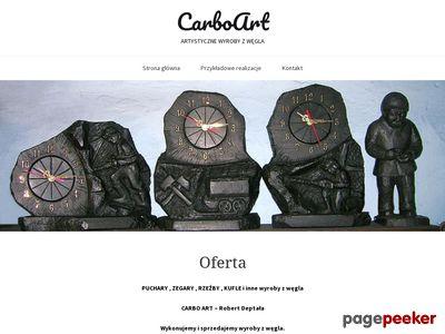 CarboArt płaskorzeźby z węgla